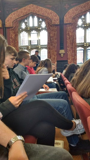 cambridge university trip photo