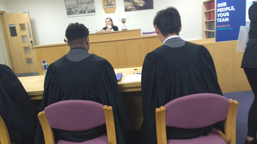 Photo of students at Mooting Competition 3