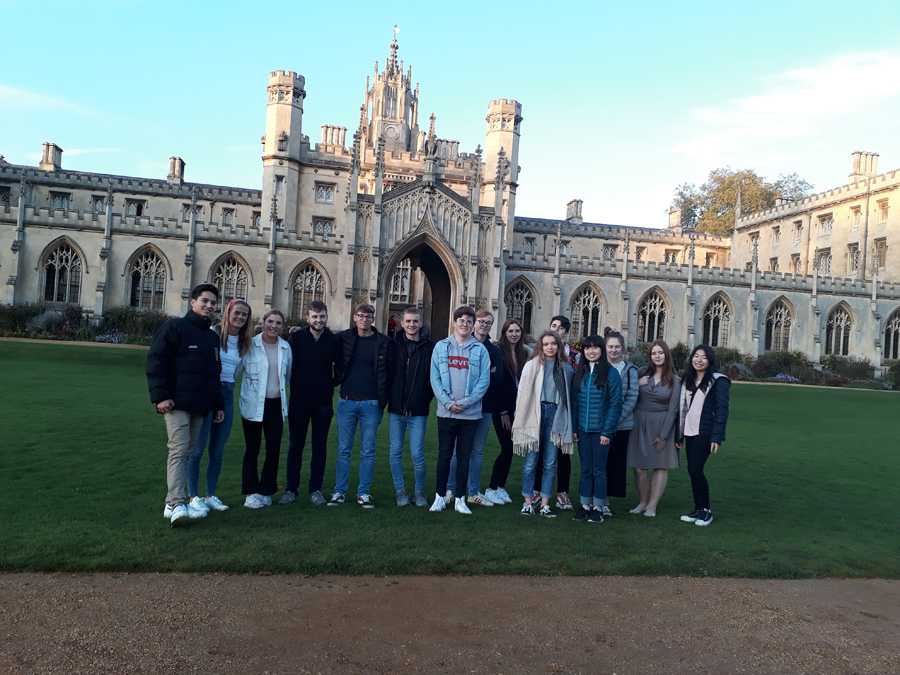 Photo of Sixth Form Students at Cambridge University
