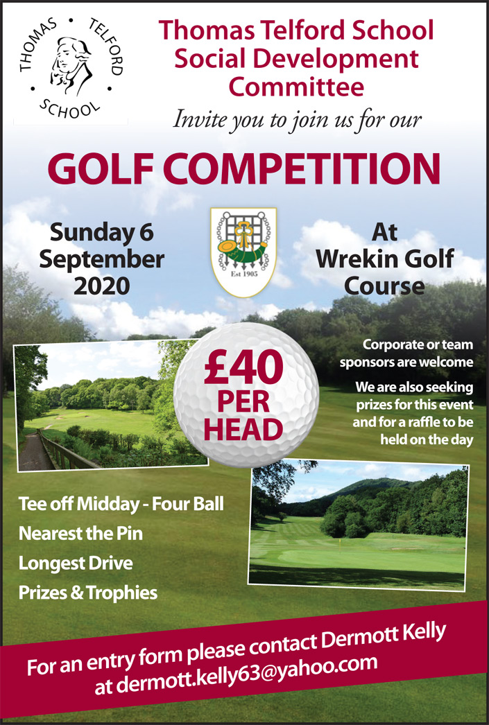Golf Day Poster 2020